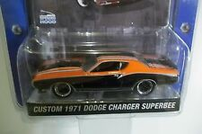 GREENLIGHT MUSCLE CAR GARAGE CUSTOM 1971 DODGE CHARGER SUPER BEE  *Rare*