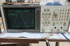 HP 8753A 300KHz-3GHz Network Analyzer option 010 + Channel R splitter