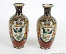 Japan 19/20 Jh. A Pair of Japanese Cloisonné Vases - Vasi Giapponesi japonais
