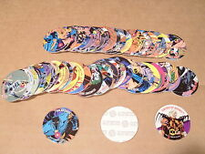POGS BATMAN GRAY BACKS 48 CT ALL DIFFERENT
