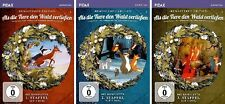 """6 DVDs * ALS DIE TIERE DEN WALD VERLIESSEN (REM) - STAFFEL 1-3 IM SET # NEU OVP"""""""