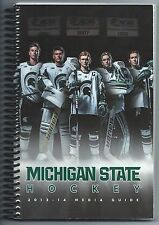 2013-13 Michigan State Spartans Hockey Record Book Media Guide