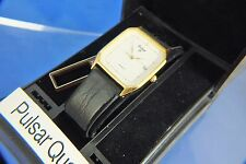 Vintage Pulsar Quartz Gents Watch Circa 1980s New Old Stock NOS Original Box