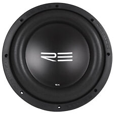 "RE Audio SXX10D4 V2 10"" 1200W RMS Dual 4-Ohm Car Subwoofer SXXV2 Sub SXX V2"
