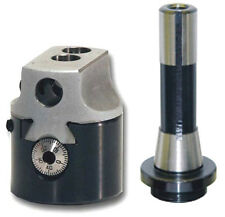 "PRECISION 2"" BORING HEAD + R8 SHANK FOR BRIDGEPORT MILLING MACHINES"