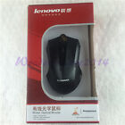 New lenovo 813 Black Wired USB Jack Optical Gaming Mouse for PC Laptops Computer