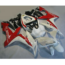Injection Mold Fairing Bodywork Kit For YAMAHA YZF R1 YZF-R1 04-06 05 White Red