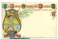 TORINO 1902 - CONCORSO INTERNAZIONALE DI MUSICA Ill. Dalbesio