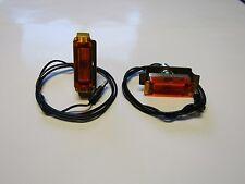 Mopar 68 69 Charger Hood Turn Signal Lens Indicator Assemblies NEW