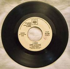45 POOH - LINDA - ANNO 1976 - PROMO PER JUKE BOX