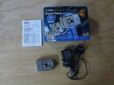 Boxed KONICA KD-400Z 4MP dual memory Digital Camera, charger, battery- Cost £175