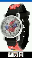 Spider Man Marvel Cartoon Child Boys Girls Kids Analog Quartz Wrist Watch LE