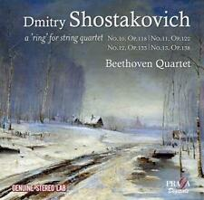 String Quartets Nos.10 & 13 - D. / Beethoven Quartet Shostakovich (2016, CD NEU)