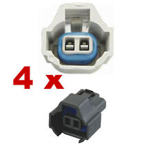 Conector inyector - NIPPON DENSO DUAL SLOT (4 x Female) injection inyección kfz
