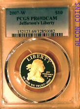 First Spouse $10 Gold with First Strikes, Circulation Strikes & proof 2007-2016