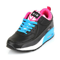 Ladies Running Trainers Womens Shock Absorbing Gym Sports Shoes Size UK 3 : 8