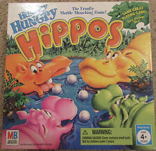 Hungry Hungry Hippos Board Game Milton Bradley 2005