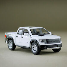 Diecast 2013 White Ford F-150 SVT Raptor SuperCrew Ute 1:46 Scale Model Car 12cm