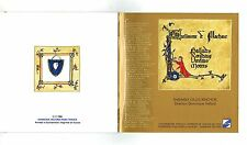 MFD IN FRANCE 1988 CD GUILLAUME DE MACHAUT : THE GILLES BINCHOIS ENSEMBLE