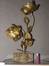 lamp fleurs JANSEN CIRCA 1970 PANTON ERA lamp light design vintage Flower vtg