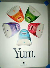 "Apple iMac ""Five Flavors Yum"" Poster"