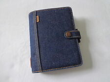 Filofax Pocket Denim Limited Edition Organiser/Diary