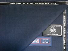 60% SUMMER KID MOHAIR & 40% WOOL WORSTED SUITING FABRIC MADE IN ENGLAND - 3.4 m.