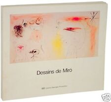 Joan Miro Dessins de Miro 1st Edition Softcover from Centre Georges Pompidou