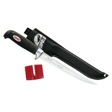"""Rapala Soft Grip Fillet Knife - Black (6"""")"""