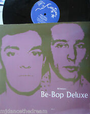 "BeBop DELUXE ~ Panic In The World ~ 4 TRACK 12"" Single PS FRENCH PRESSING"