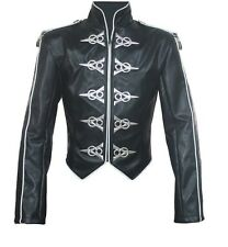 Michael Jackson This Is It World Tour Punk Leather Jacket MJ COSTUME