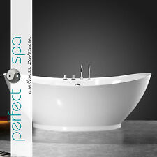 Design Badewanne Freistehend Wanne Liverpool 1.800 x 850 x 680 mm Bad LUXUS NEU