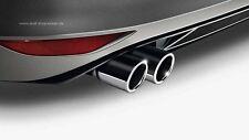 Original VW Chrom Auspuffblende / Endschalldämpferblende Beetle, Golf, Touran