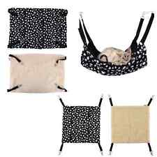 Polk Dot Pet Rat Rabbit Chinchilla/Cat Cage Hammock Small Dog Puppy Bed Cover