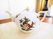 Herend ROTHSCHILD BIRD Small / Individual Teapot Tea Pot Mini - MINT NEVER USED!