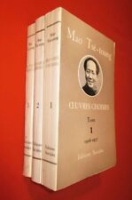MAO TSE-TOUNG. Oeuvres choisies. 3 tomes : 1926-1937, 1937-1938, 1939-1941.