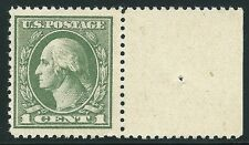 #536 VF MNH OG--1¢ Washington OFFSET STAMP WITH WIDE SELVAGE (REM #536-631)