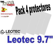 """Pack 4 Protectores de pantalla para Tablet Leotec 9.7"""" IPS 2 L-Pad Aurora"""