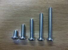 Yamaha Suzuki Kawasaki Honda M6 Phillips Panhead Screws 10 x 45mm  QEC124