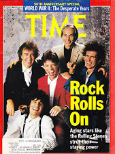 SHIPPED IN A BOX -  Time Magazine September 4 1989 The Rolling Stones