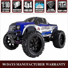RedCat Racing Volcano EPX 1/10 Scale Electric 4WD RC Monster Truck - Blue