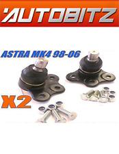 Se adapta a Astra MK4 G 1998-2006 FRONTAL INFERIOR BRAZO balljoints + Pernos X2 Envío rápido