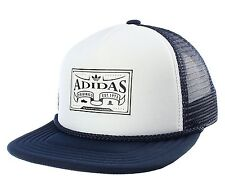 NEW Adidas Originals trucker Cap Heritage baseball hat snap back flat brim mens