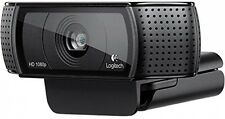 Logitech C920 HD Pro 1080p Usb New Microphone Video Pc Skype Full Camera Auto