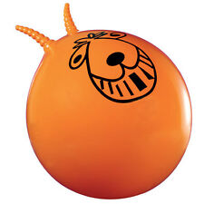 Retro Space Hopper orange, classic two handle bouncy ball ideal summer gift