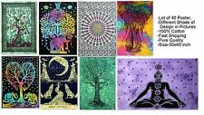 40 Pcs Mandala Tapestry Wall Hanging Throw bedding Cotton Poster Wholesale Lot