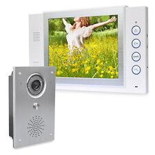"""Farb Video Türsprechanlage 1 x 8"""" Monitor Sprechanlage Bildspeicher auf SD-Karte"""