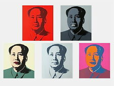 Mao Suite (Sunday B. Morning), Silk-screen, Andy Warhol