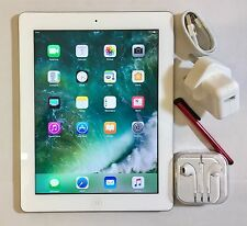 PERFECT Apple iPad 4th Generation 16GB, Wi-Fi, 9.7in Retina Display + EXTRAS