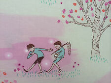 By 1/2 Yard Wee Wander Sarah Jane Wander Woods Petal Pink  Michael Miller Fabric